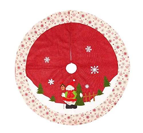 24station [G] Precioso árbol de Navidad Falda Árbol de Navidad ...