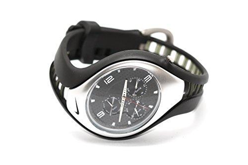 MENS NIKE TRIAX SWIFT 3I-BLACK/SILVER - (Nike Unisex Watch)