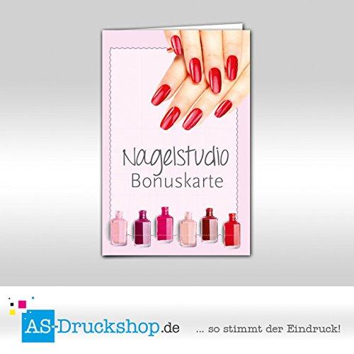 Bonuskarten Nagelstudio Bunte Farben 500 Stück B07D3YQY8W | Qualitativ Hochwertiges Produkt