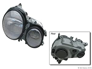 Hella h11970021 mercedes benz e class w210 m for Mercedes benz headlight problems