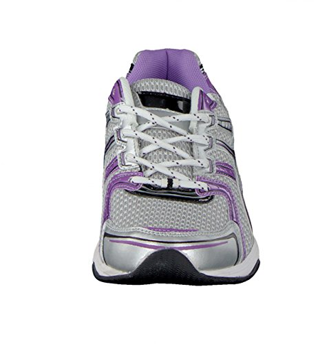 HSM Sport Guantes Mujer púrpura Grau / Violett