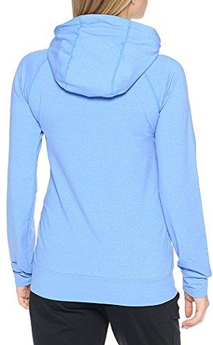 Women's Blue Zip Asics Training Full Hoodie PqBwfg6