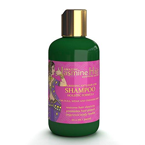 Amazing Jasmine Hair Nourishing Holistic Anti-Hair Loss Shampoo 10.2 Oz by Amazing Jasmine Hair