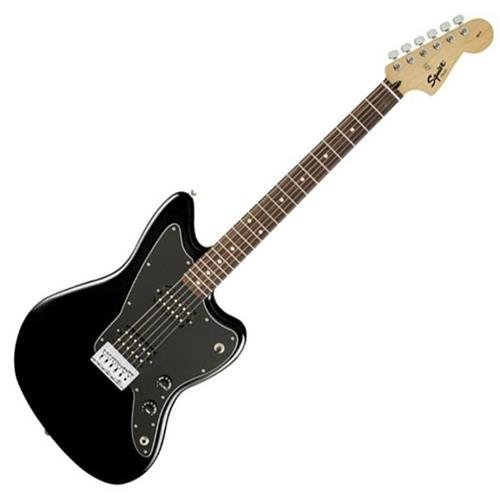 Squier by Fender Affinity Series Jazzmaster Electric Guitar - HH - Rosewood Fingerboard - Black