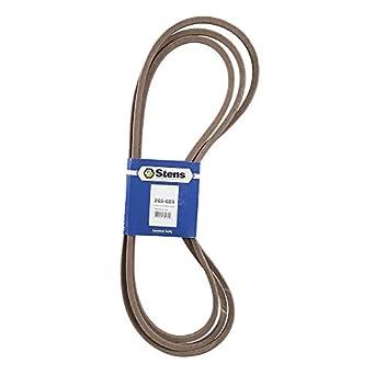 Amazon com: Stens 265-609 OEM Replacement Belt: Industrial & Scientific