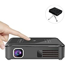 NWYJR Wifi Projectors Android 7.1 Pocket LED DLP With Miracast And DLNA FOB Home Theater Entertainment