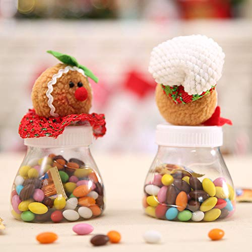 HEART SPEAKER Christmas Snowman Santa Reindeer Candy Box Jar Biscuit Sweetie Container Party Decor 5# by HEART SPEAKER (Image #7)