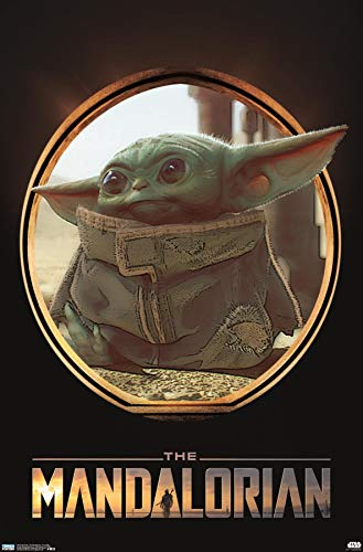 Trends International Star Wars: The Mandalorian - The Child (Baby Yoda) Wall Poster, 22.375