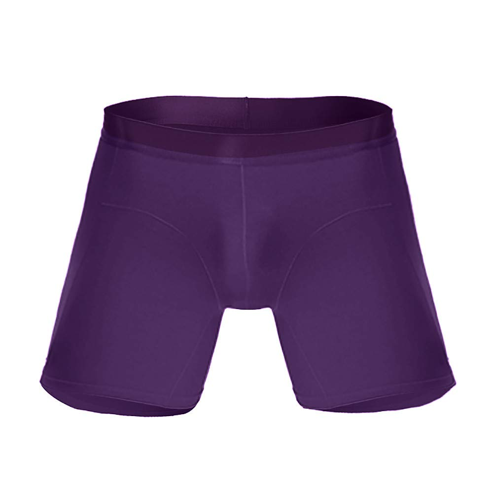 Zarupeng Sport-Boxershorts Herren Einfarbig Lange Slips D/ünne Unterhose Multi-Funktions-Boxer Briefs