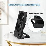 Desk Fan, EasyAcc Rechargeable Battery Fan