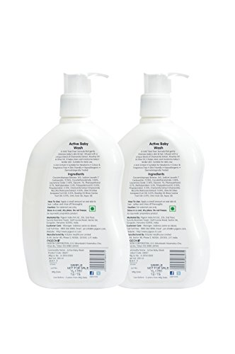 Pigeon Baby Wash Combo, 500ml (Pack of 2)