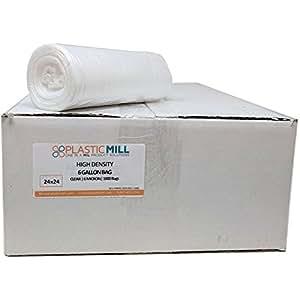 Amazon Com Plasticmill 7 10 Gallon Clear High Density