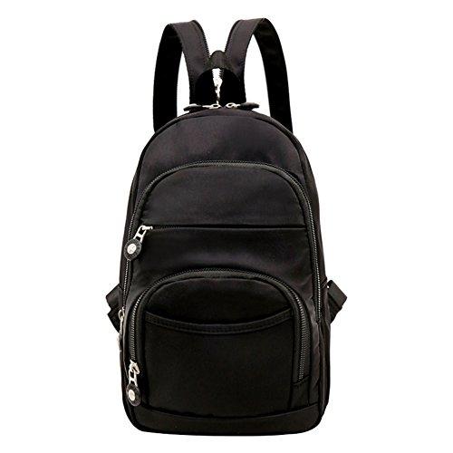 Mochila pequeña/Mochila de nylon/Pecho casual Mini Pack mochila/[bolsas de tela]/Bolsa de viaje-E E