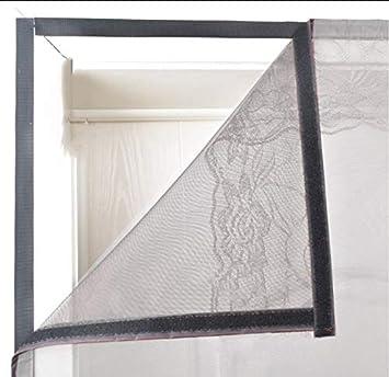 YSA Magnetische Fliegengittert/ür Moskitonetz Vorhang Spitze Mesh Full Frame Magic Tape Anti-Pest-Grau 70x190cm 27.5x74.8inch