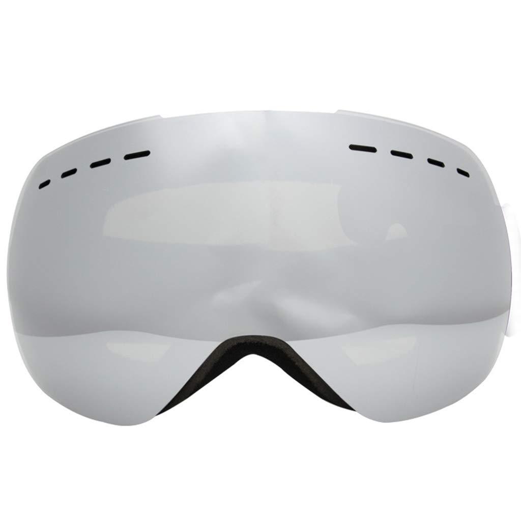 Skibrille Doppel Anti-Fog Große sphärische Schneespiegel Männer und Frauen Schneebrille B07L3BK7KB Skibrillen Zu verkaufen