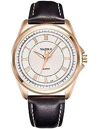Relógios de Luxo em Aço Inoxidável YAZOLE D336