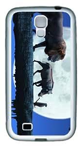 Hakuna Matata Customized Rubber Material White Samsung Galaxy S4 I9500 Case