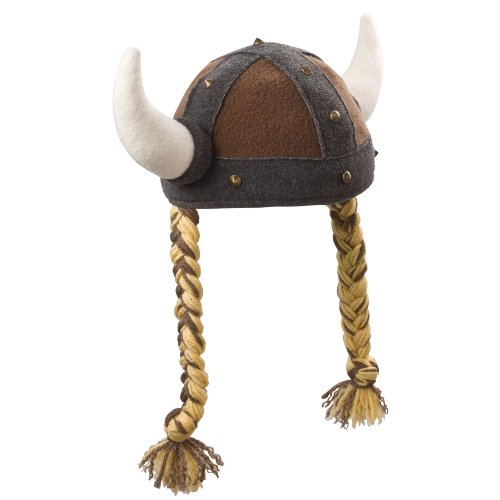 [Beasty Buddies Viking Girl Hat Fleece