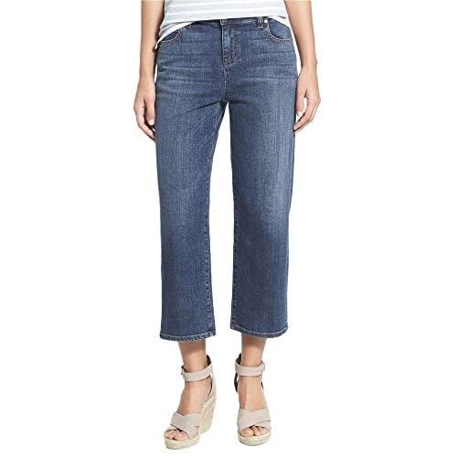 Eileen Fisher Straight Leg Crop Jeans