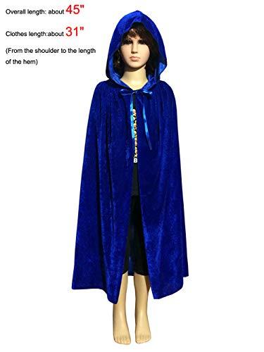 PENTA ANGEL Magic Halloween Christmas Party Vampire Hooded Cloak Cosplay Dress Costume Cape (45