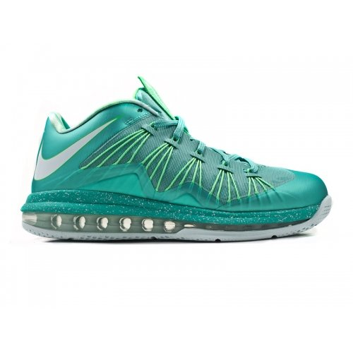 Nike Air Max Lebron X Low (Crystal Mint/Poison Green/Fiberglass) - With James Glasses Lebron