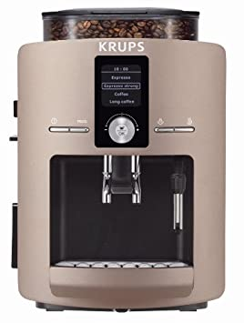 Krups EA8200, Marrón, 1450 W, 245 x 330 x 365 mm - Máquina de café: Amazon.es: Hogar