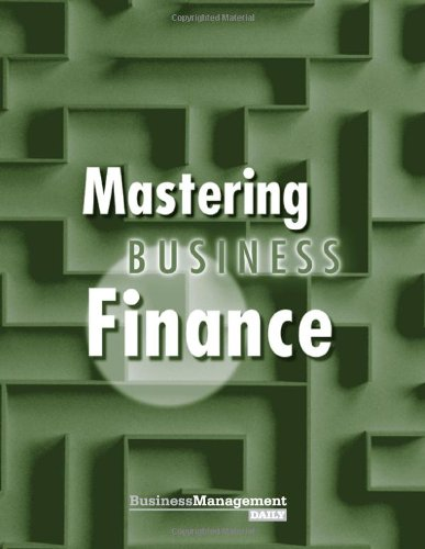 Mastering Business Finance (NIBM Special Report)