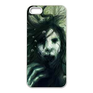 Cool Painting Ghost Unique Fashion Printing Phone Case for Iphone 5,5S,personalized cover case case547083