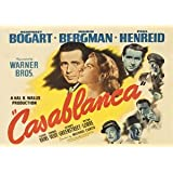 Casablanca - FILM STARS - movie classic poster - film - A3 Poster