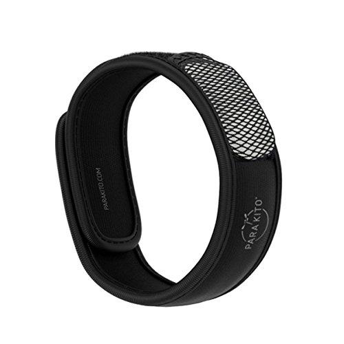 Para'Kito Mosquito Repellent Wristband - Black (Mosquito Repellent Wristband)