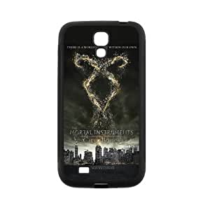 LeonardCustom Protective Hard Rubber Fitted Cover Case for Samsung Galaxy S4, The Mortal Instruments -LCS4U75