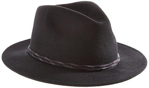 Brixton Women's Corbet Fedora Black Hat MD (7 1/4)