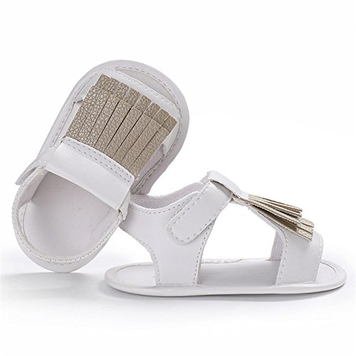 CoKate Tassel Sandals Infant Boys Girls Premium Soft Sole Infant Prewalker Toddler Sandals Shoes