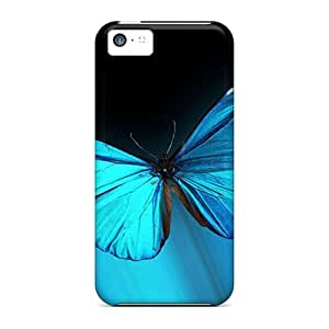 Perfect Hard Phone Cover For Iphone 5c (mEQ997ZKSq) Provide Private Custom Nice Butterfly Pictures