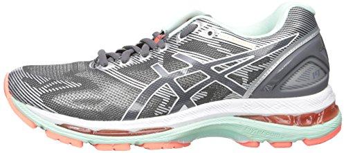 blanco nimbus flash Gel carbon blanc Carbone corail Femme Asics De Running Coral Chaussures 19 wFnCqP