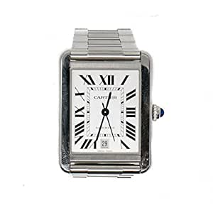 Cartier Tank Solo automatic-self-wind mens Watch 3515 (Certified Pre-owned)