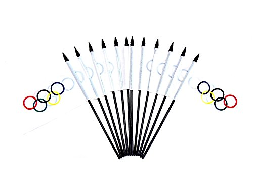 Olympic Themed Classroom - Licensed Olympic Flags!! Pack of 12