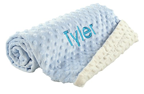 Large PERSONALIZED baby blankets Ultra soft and cozy MINK DO