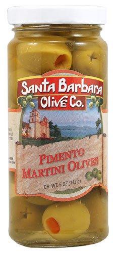 Santa Barbara Olive Co. Pimento Martini Olives -- 5 oz - 2 pc