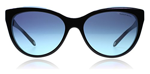 Tiffany TF4119 8055-9S Black TF4119 Cats Eyes Sunglasses Lens Category 2 Size - Sunglasses Tiffany