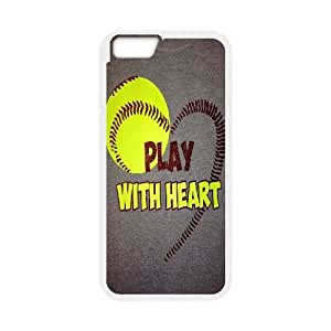 """custom iphone6 4.7"""" Case, PLAY SOFTBALL hard back case for iphone6 4.7"""" at Jipic (style 9)"""