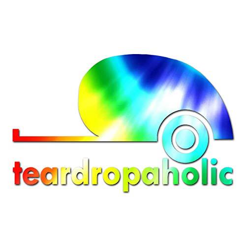 Tear Drop A Holic Camping - Vinyl Decal Sticker - 17