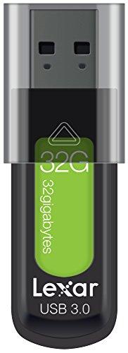 (Lexar JumpDrive S57 32GB USB 3.0 Flash Drive (Green) )