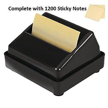 Post-it de notas adhesivas dispensador de Z-Notes (, completa con 1200