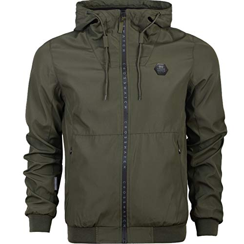 Lunga Forest Giacca Night Crosshatch Uomo Proof Rain Manica Jacket qwnnXfUF