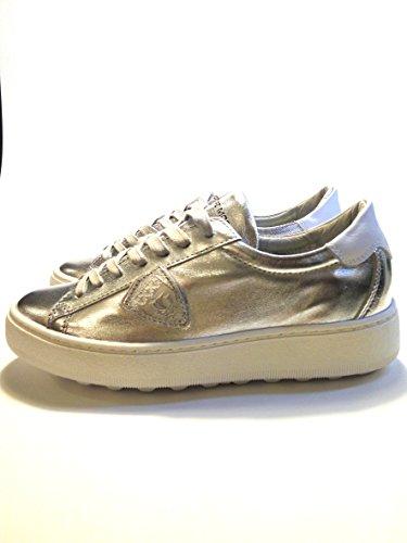Philippe Model Damer Sneaker Sølv / Sort 72uHLh