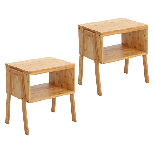 Natural Wood Set Coffee Table - 2