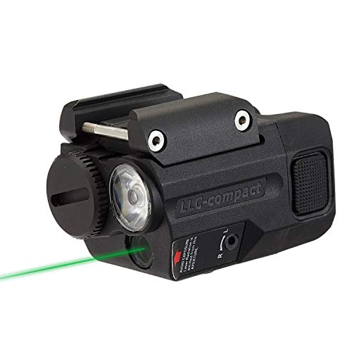 Beamshot LLC-Compact LED & Green Laser Sight Combo, for Concealed Carry (2019 ver.)