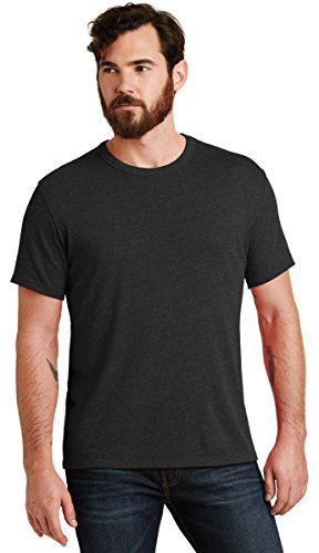 Alternative Men's Vintage 50/50 Jersey The Keeper Tee, Black, (Alternative Clothing)