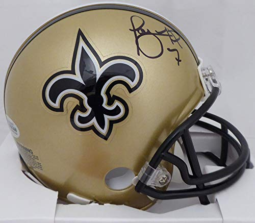 Taysom Hill Autographed New Orleans Saints Mini Helmet Beckett BAS